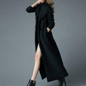 Preston & York Full Length Wool Pea Coat Size 12